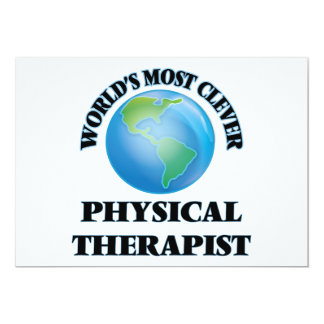 World's Most Clever Physical Therapist Card