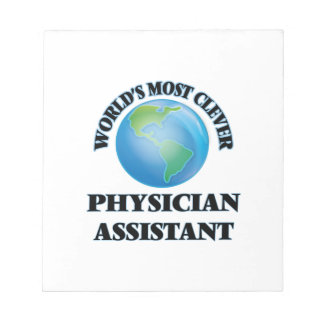 World's Most Clever Physician Assistant Notepads