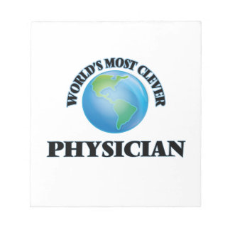 World's Most Clever Physician Memo Pads