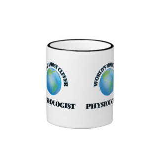 World's Most Clever Physiologist Ringer Coffee Mug