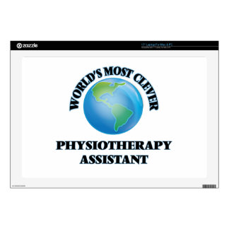 """World's Most Clever Physiotherapy Assistant Skin For 17"""" Laptop"""