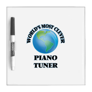 World's Most Clever Piano Tuner Dry-Erase Board