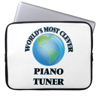World's Most Clever Piano Tuner Laptop Computer Sleeve