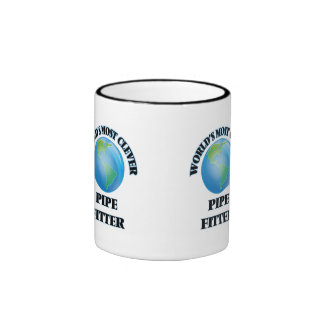 World's Most Clever Pipe Fitter Mugs