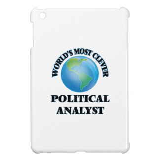 World's Most Clever Political Analyst iPad Mini Cover