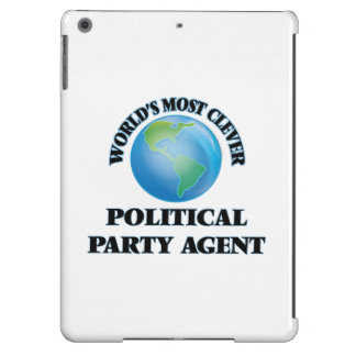World's Most Clever Political Party Agent iPad Air Covers