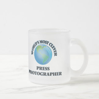 World's Most Clever Press Photographer Coffee Mugs