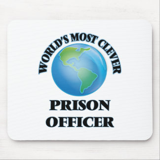 World's Most Clever Prison Officer Mousepads
