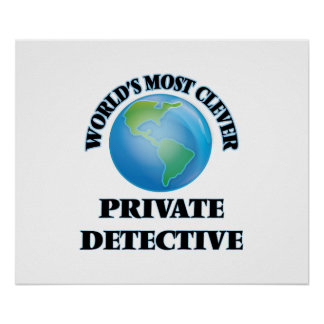World's Most Clever Private Detective Posters