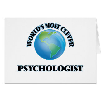World's Most Clever Psychologist Cards