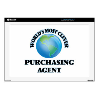 """World's Most Clever Purchasing Agent Skin For 17"""" Laptop"""