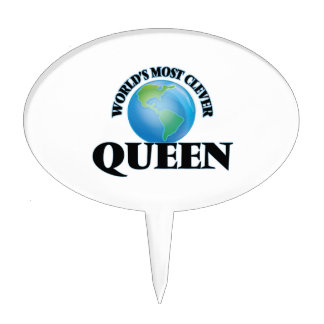 World's Most Clever Queen Cake Topper