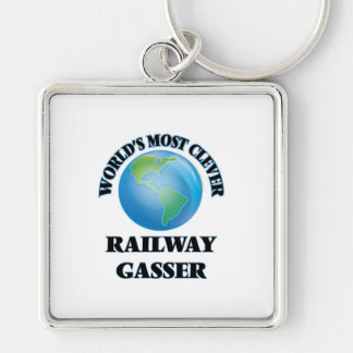 World's Most Clever Railway Gasser Key Chains