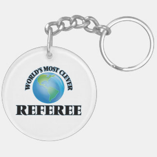 World's Most Clever Referee Key Chains