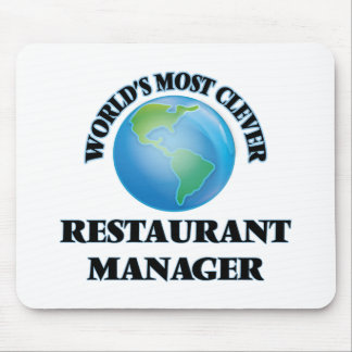 World's Most Clever Restaurant Manager Mousepad