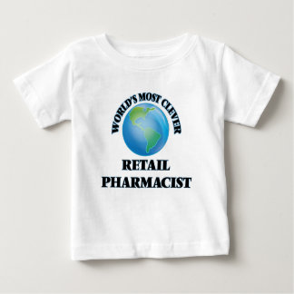 World's Most Clever Retail Pharmacist T-shirts