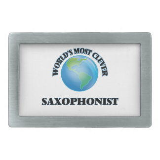 World's Most Clever Saxophonist Belt Buckle