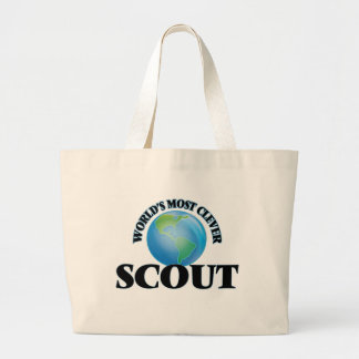 World's Most Clever Scout Canvas Bag