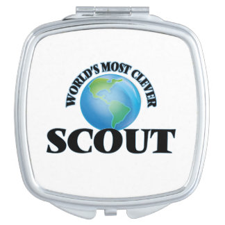 World's Most Clever Scout Makeup Mirror