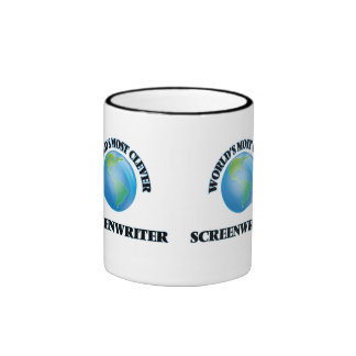 World's Most Clever Screenwriter Coffee Mugs