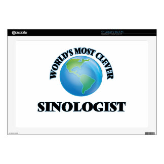 World's Most Clever Sinologist Decal For Laptop