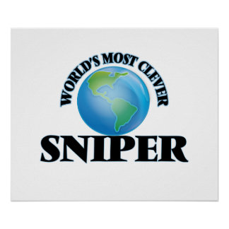 World's Most Clever Sniper Posters