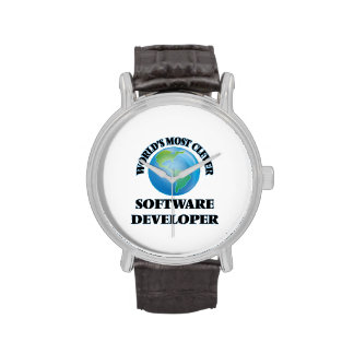 World's Most Clever Software Developer Wristwatches
