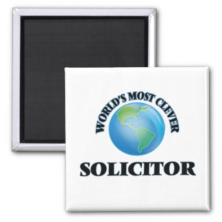 World's Most Clever Solicitor Fridge Magnets