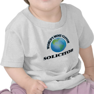 World's Most Clever Solicitor Shirts