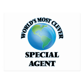 World's Most Clever Special Agent Postcard