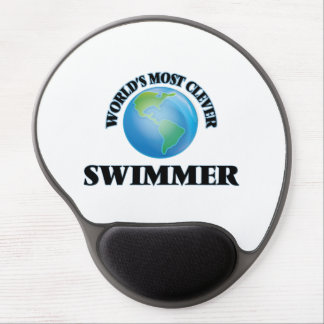 World's Most Clever Swimmer Gel Mouse Mat