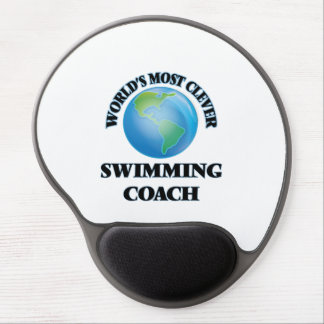World's Most Clever Swimming Coach Gel Mouse Pad