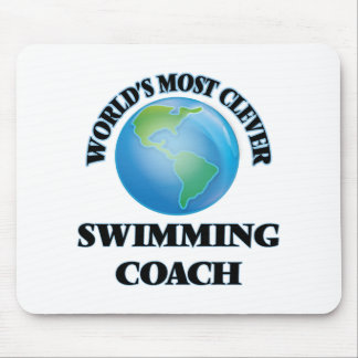 World's Most Clever Swimming Coach Mousepads