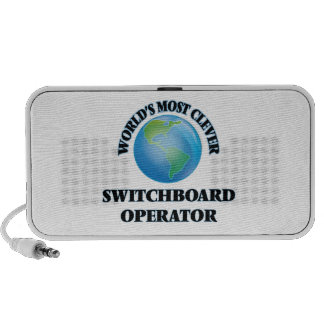 World's Most Clever Switchboard Operator Laptop Speaker