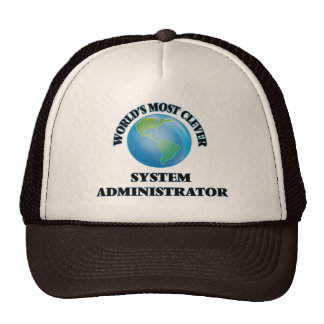 World's Most Clever System Administrator Hats