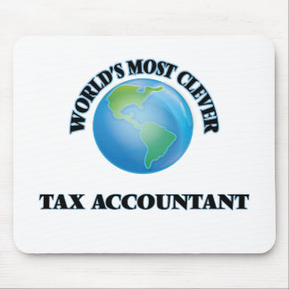 World's Most Clever Tax Accountant Mouse Pads