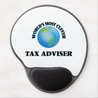 World's Most Clever Tax Adviser Gel Mouse Pad