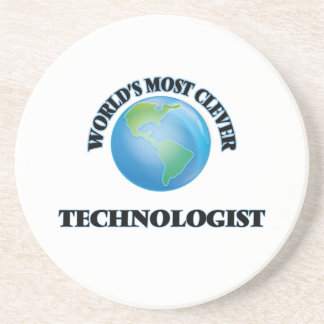 World's Most Clever Technologist Beverage Coaster