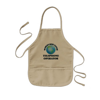 World's Most Clever Telephone Operator Kids' Apron