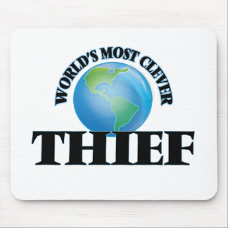 World's Most Clever Thief Mouse Pad