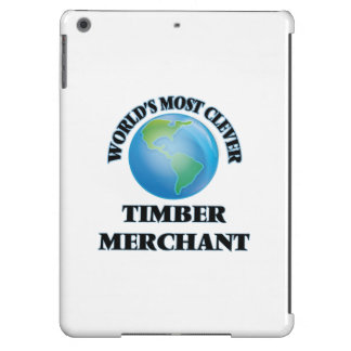 World's Most Clever Timber Merchant Case For iPad Air