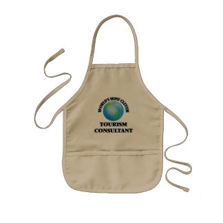 World's Most Clever Tourism Consultant Aprons