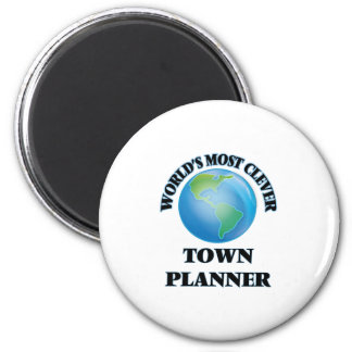 World's Most Clever Town Planner Refrigerator Magnets
