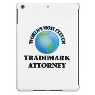 World's Most Clever Trademark Attorney iPad Air Cover