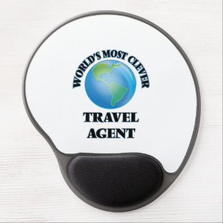 World's Most Clever Travel Agent Gel Mouse Pad