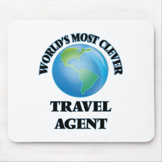 World's Most Clever Travel Agent Mouse Pad