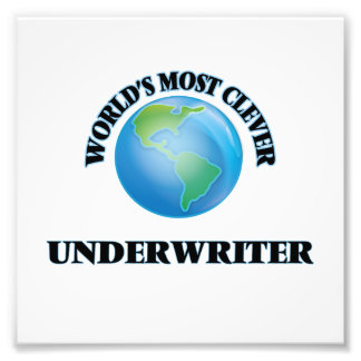 World's Most Clever Underwriter Photo