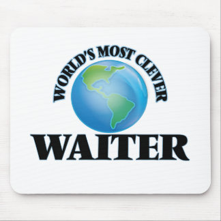 World's Most Clever Waiter Mouse Pads