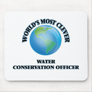 World's Most Clever Water Conservation Officer Mouse Pads