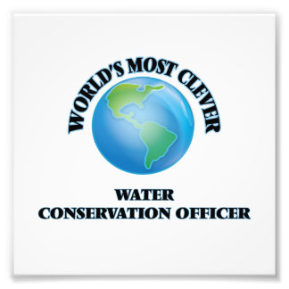 World's Most Clever Water Conservation Officer Photo